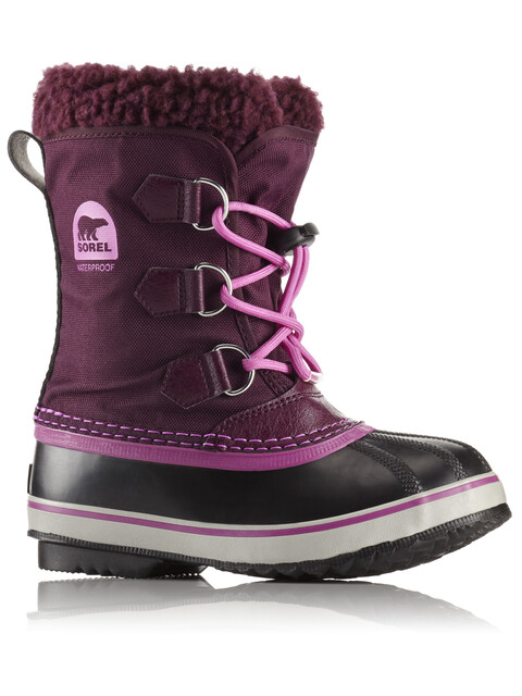 Sorel Yoot Pac Nylon Boots Youth Purple Dahlia/Foxglove